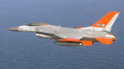QF 16 Fighter Jets Flies at Supersonic Speeds that Operates Without a Pilot Successfully Tested in USA