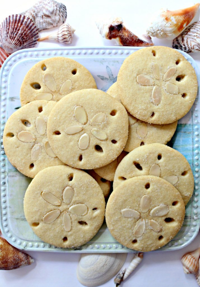 Sand Dollar Almond Cookies