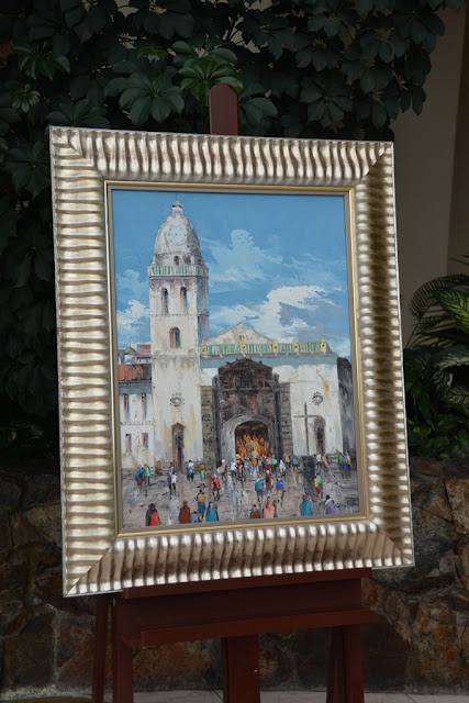 JW Marriott Quito art