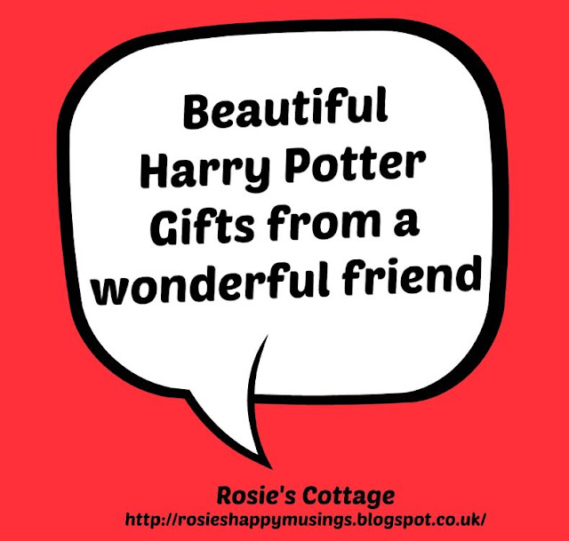 Sharing a smile - Beautiful Harry Potter gifts from a wonderful friend