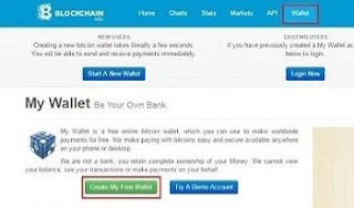 Tutorial Membuat Rekening/Wallet Bitcoin di Blockchain