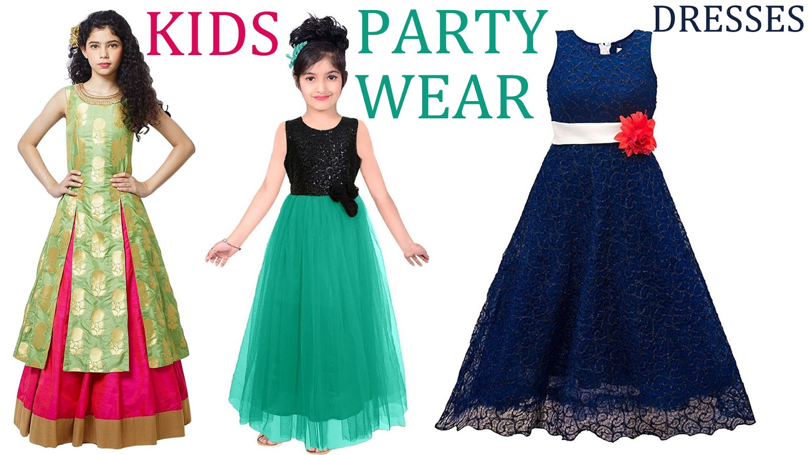 Addchunks: Party wear dresses for girls | girls dresses | kids party ...