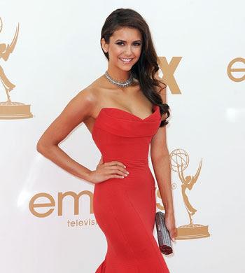 Nina Dobrev aux Emmy Awards 2011