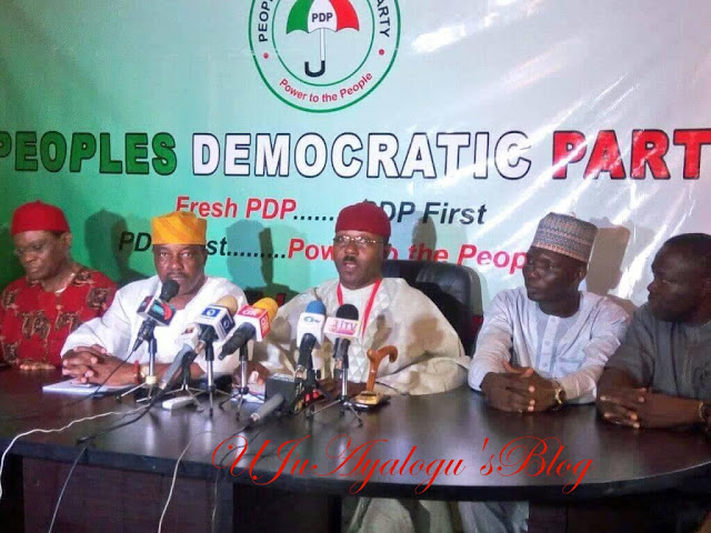 Happening Now  : Fresh PDP emerges says Secondus PDP is dead