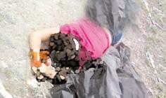 Hallan cuerpo de una mujer en bolsas de plastico en Rinconada Veracruz