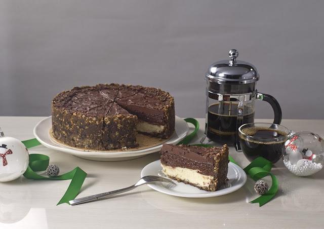 Choco Oat Cheesecake