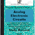 Analog Electronic Circuits PDF Study Materials cum Notes, Engineering E-Books Free Download