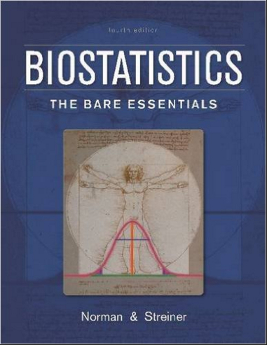 Biostatistics - The Bare Essentials - 4th Edition [EPUB]  Norman & Streiner