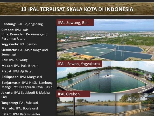 IPAL Terpusat Skala Kota Di Indonesia (slideshare.net)