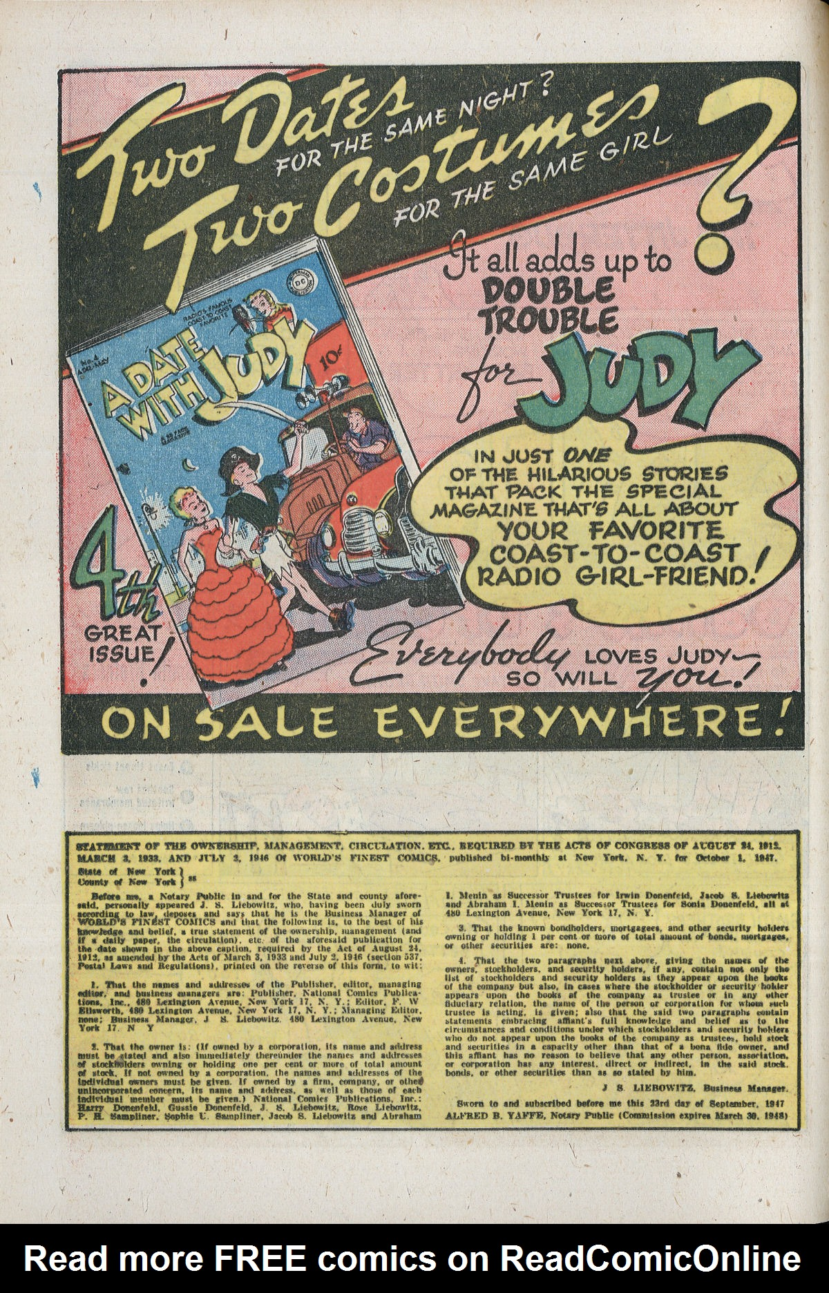 Read online World's Finest Comics comic -  Issue #33 - 36