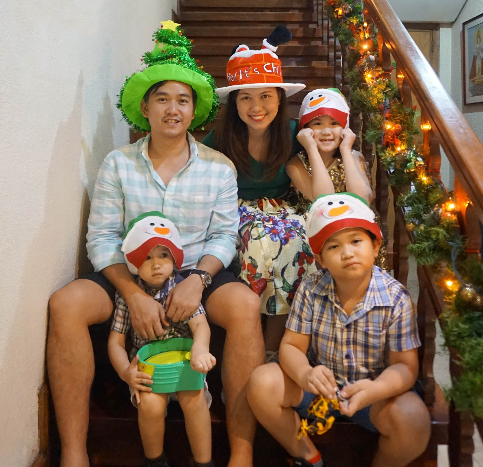 heres some of the other crazy hats our family wore