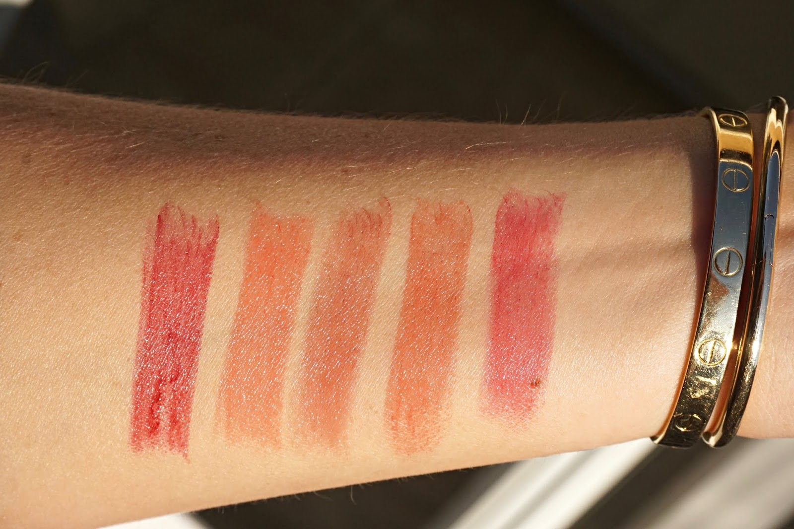 Charlotte tilbury superstar lips swatches