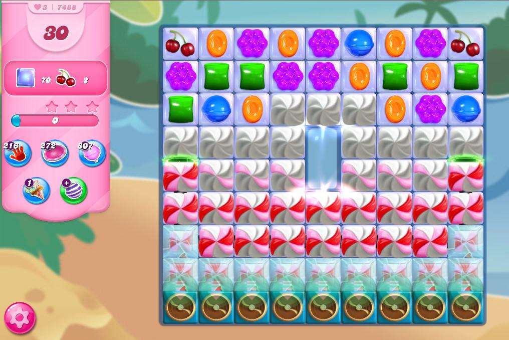 Candy Crush Saga level 7488