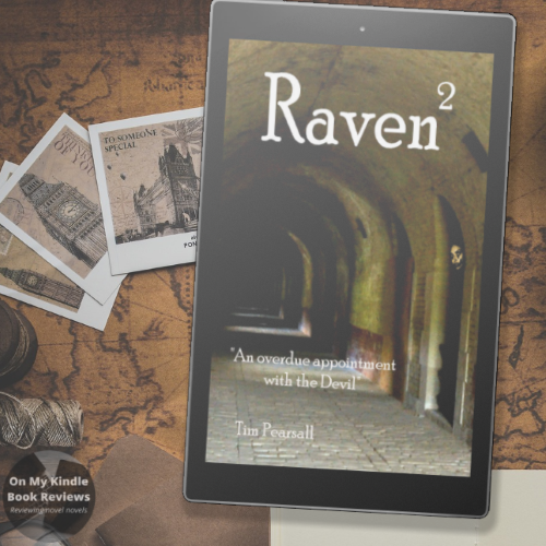 Social media image of RAVEN 2 by Tim Pearsall on Kindle device.