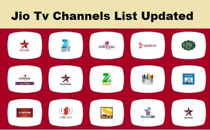 Jio TV channels List Latest Update – Jio dth Channels List