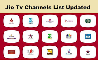 Jio Tv Channels List