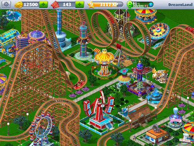 RollerCoaster Tycoon® 4 Mobile Apk v1.10.14 (Mod Money)