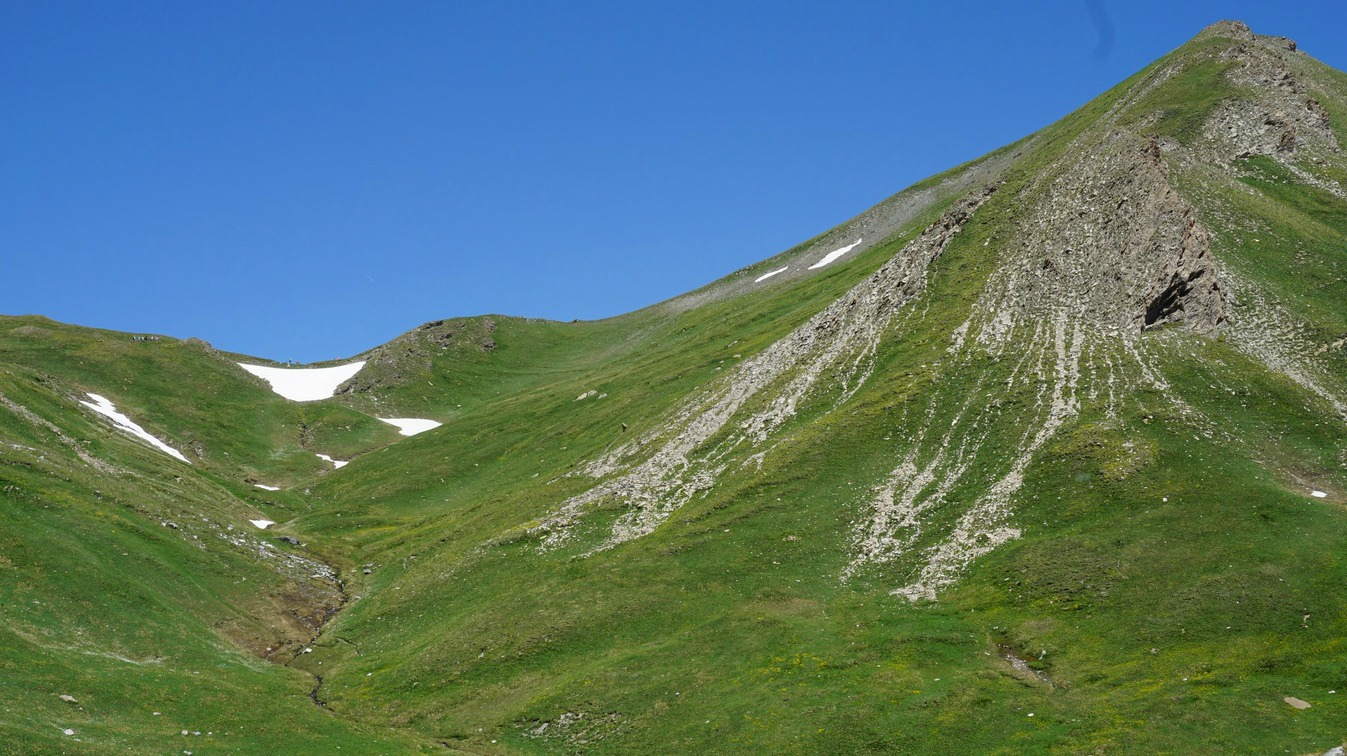 Col des Marsailles 2601m in sight