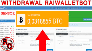 Cara Mudah Withdrawal Raiblocks (Raiwalletbot) Di Telegram