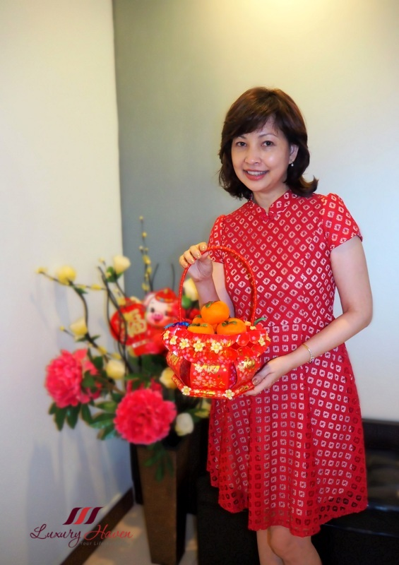 singapore mommy blogger cny modern cheongsam dress