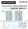Cẩm nang sử dụng máy nén khí HITACHI (Manual PDF)