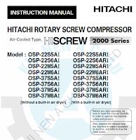 Manual Hitachi Compressor