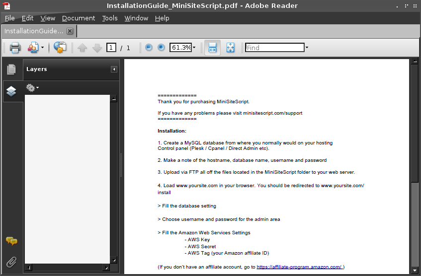 How to install PDF reader (Adobe reader, xpdf, foxit reader, okular, epdf, etc) on Archlinux