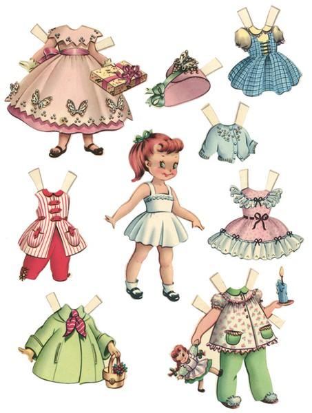 Amato Cosy Home: Paper dolls NA26