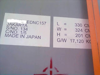Import FCL Jepang-Jakarta With Form  IJEPA (Example Form D,Form E,Form AK)