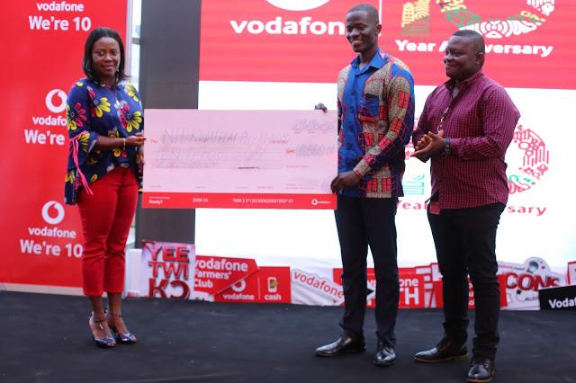 Vodafone Unveils Anniversary Logo Winner