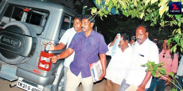 அம்மா சிமென்ட் வழங்க ரூ.1,500 லஞ்சம் வாங்கிய இளநிலை உதவியாளர் கைது