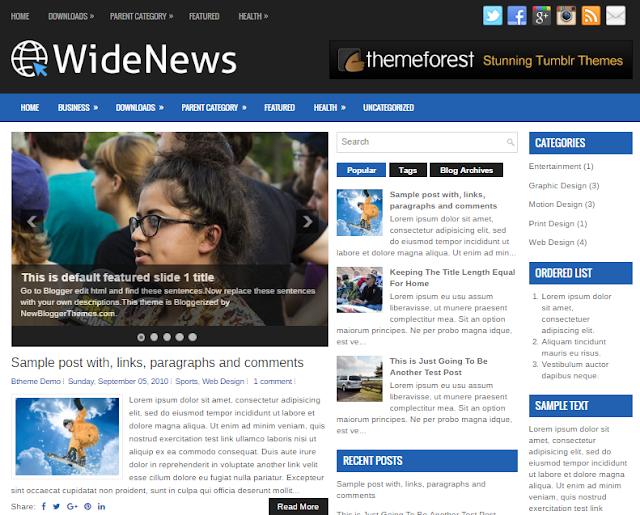 WideNews Blogger template                                                                                                                                                                                                                               http://blogger-templatees.blogspot.com/
