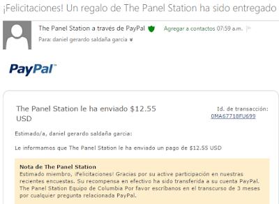 Comprobante de pago ThePanelStation
