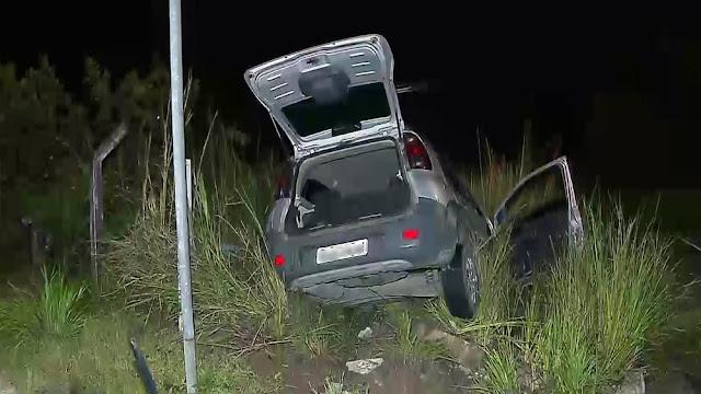 Homem é preso após bater carro em perseguição policial na PB