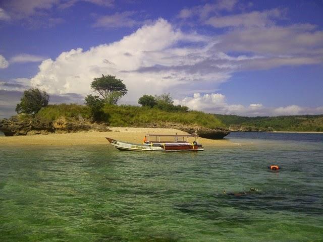 Pulau Tiga - snorkling berdua