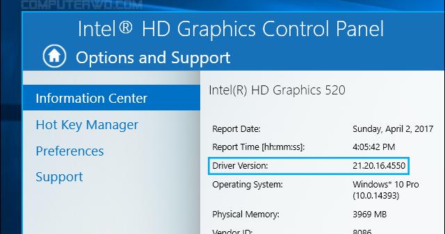 كيفية تحديث تعريف كرت شاشة انتل Intel بالطرق الرسمية عالم