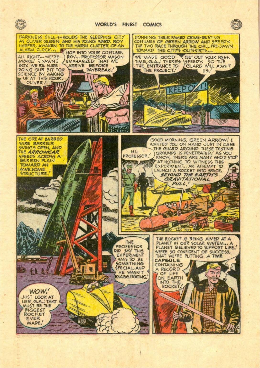 Read online World's Finest Comics comic -  Issue #52 - 42