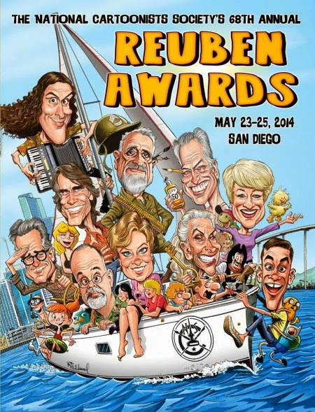 Just Create Rueben Awards 2013 Nominees