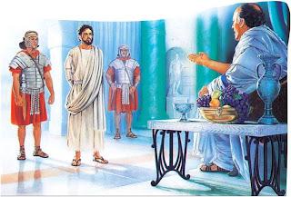Resultado de imagen para Mateo 27,11-26