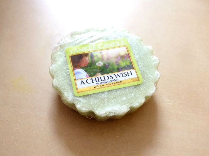 Yankee Candle- A child's wish