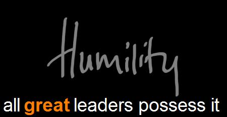 Humility in lifeand business