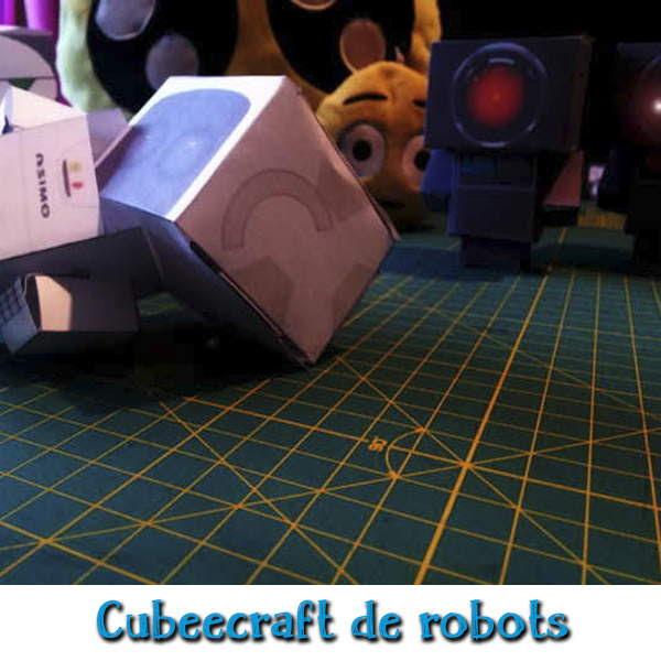 Plantillas para hacer cubeecraft de robots con inteligencia artifical