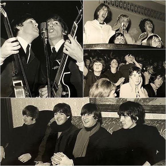 Des photographies des Beatles à Dundee aux enchères