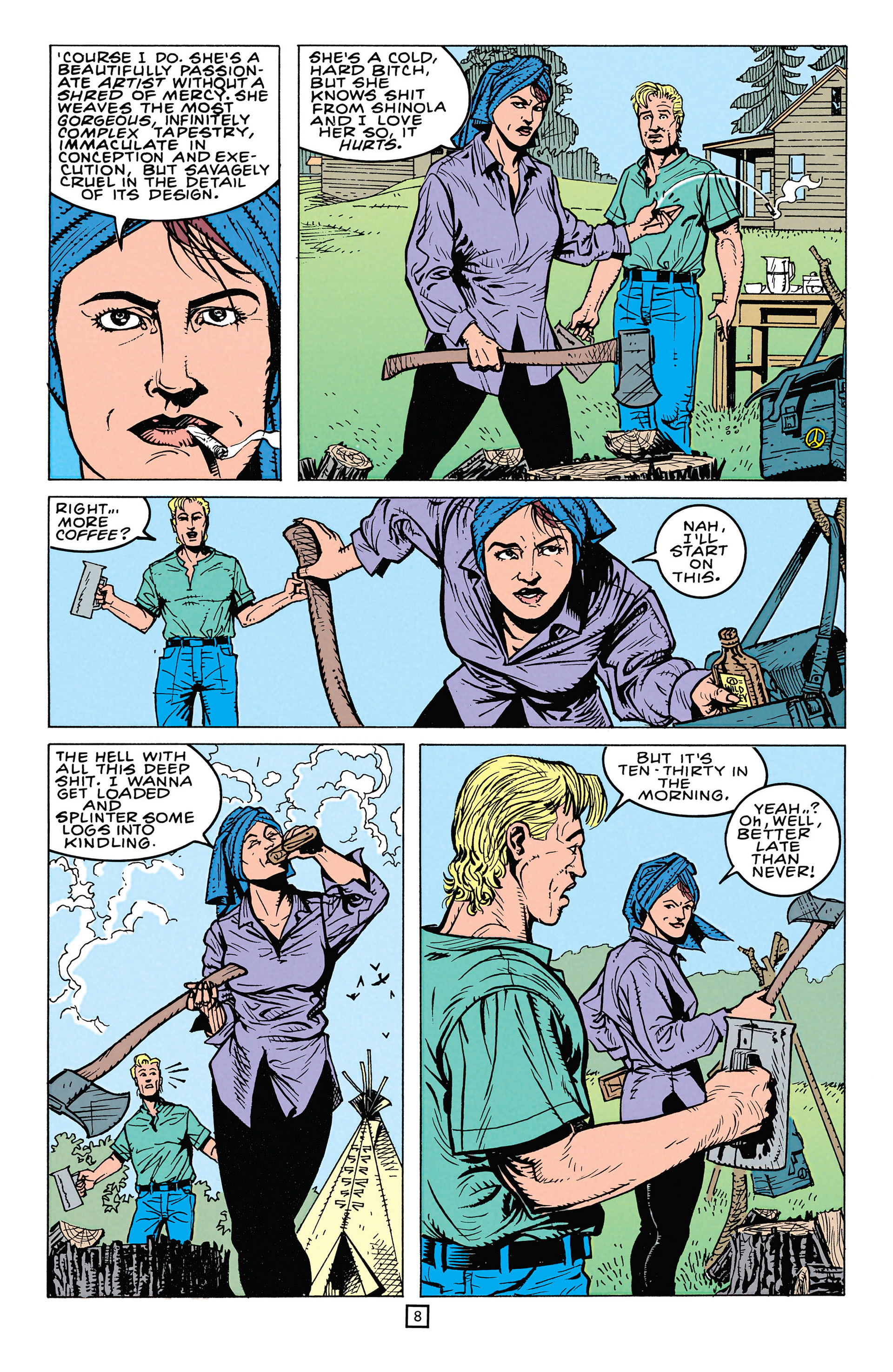 Read online Animal Man (1988) comic -  Issue #64 - 9