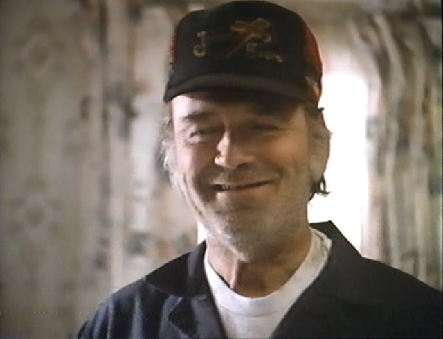 Danny Nelson as Jake Pruitt in BLOOD SALVAGE (1989).