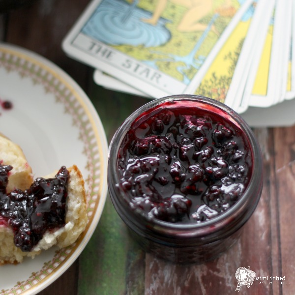 small batch Tipsy Blackberry Jam