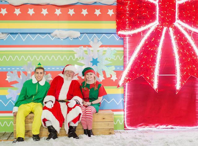 Santa's Grotto, White Christmas, Meet Santa in the Snow
