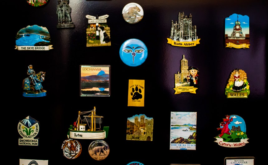 Very often I find myself buying magnets to gift to my friends, but once I return home, I find it difficult to part with them. Such is the charm of these souvenirs. They are not only great gift items, they are windows to places that you have visited. They are art that an artist has conceived and molded with care. Fridge magnets deserve a lot more respect than they get right now.