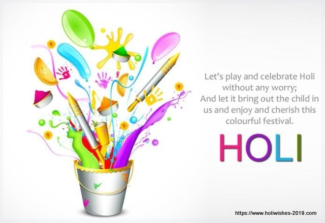 Happy Holi Message 2019 । Happy Holi Status, Sms, Quotes, Wishes । 2019 (Updated)