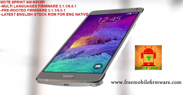 flash samsung note 4 Sprint n910p marshmallow 6.0.1 root